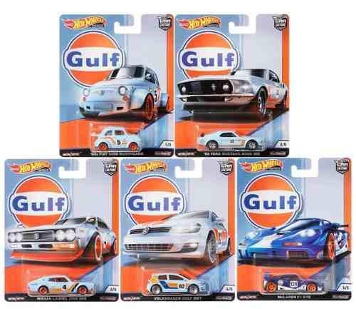 Serie Completa Hot Wheels Gulf Racing