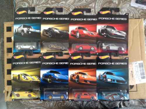Serie Porsche Hot Wheels 2015
