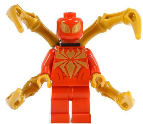 Spider Man Infinity War Iron Spider Bloques Compatible