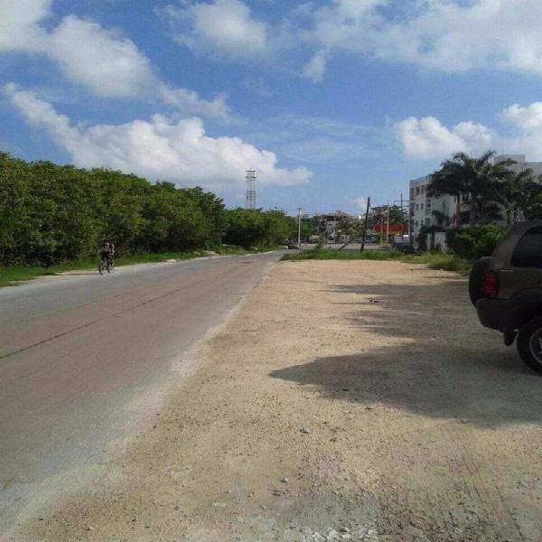 Terreno en Puerto Morelos cerca del centro