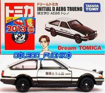 Tomica Carro Initial D Toyota Ae86 Trueno 1/64 Metalico 86