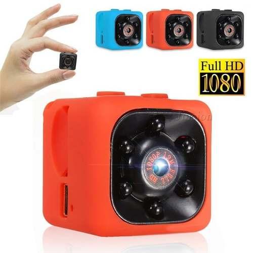 Mini Camara Espia Sq11 Vision Nocturna Fullhd Det Movimiento