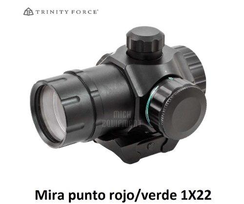 Mira Táctica Punto Rojo Verde 1x22