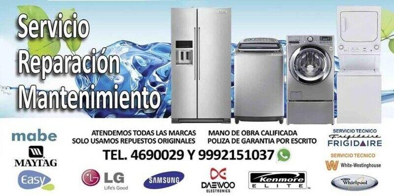 Servicio técnico profesional en reparación de lavadoras