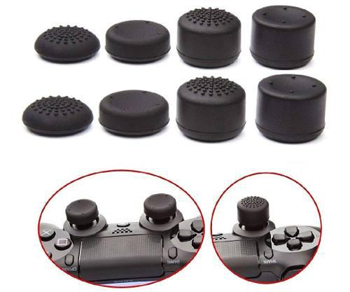 8 Gomas Thumb Grips Sticks Para Xbox One, Ps4, 360, Ps3