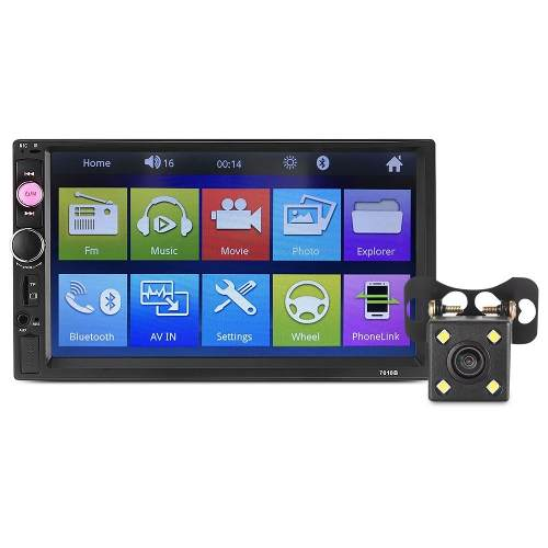 Auto Estereo Pantalla 7 Usb, Bluetooth Camara Reversa b