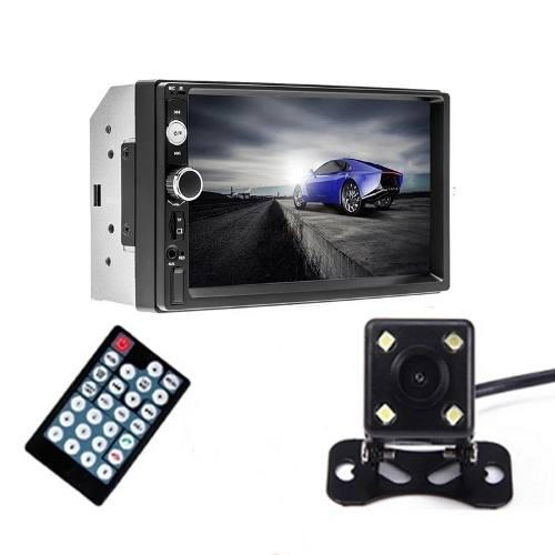 Auto Estereo Pantalla Touch Bluetooth Mp5 Mp3 Camara Reversa