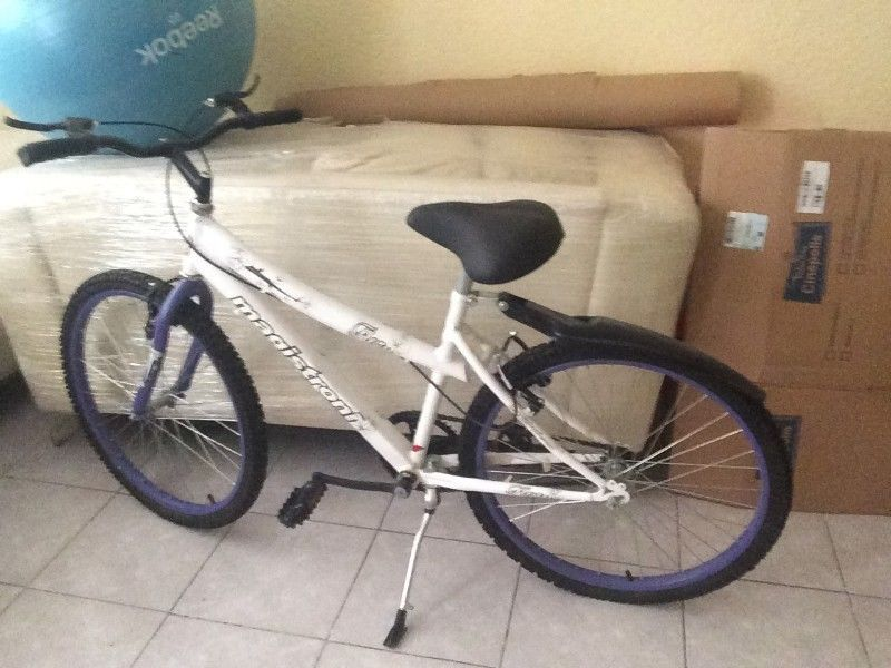 Bicicleta Magistroni Blanca Nueva