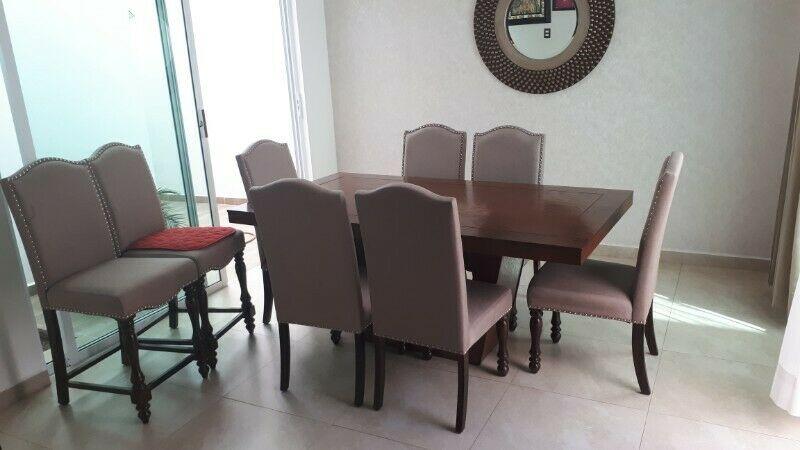 Comedor nuevo de cedro 6 sillas