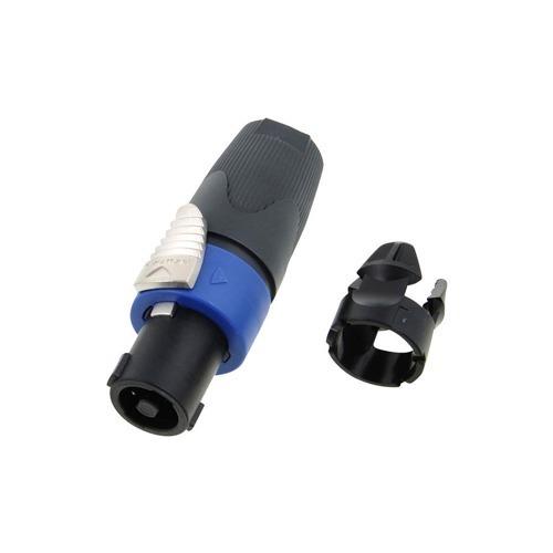 Conector Neutrik Speakon Hembra De 4 Polos Para Cable Nl4fx