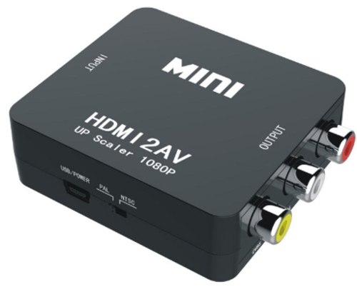 Convertidor De Hdmi A Rca Audio Y Video