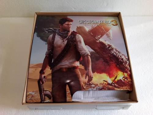 Cubierta Para Ps3 Slim Edicion Uncharted 3 Original