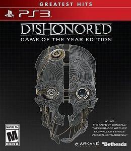 Dishonored Game Of The Year Edition Ps3 Nuevo Fisico Od.st