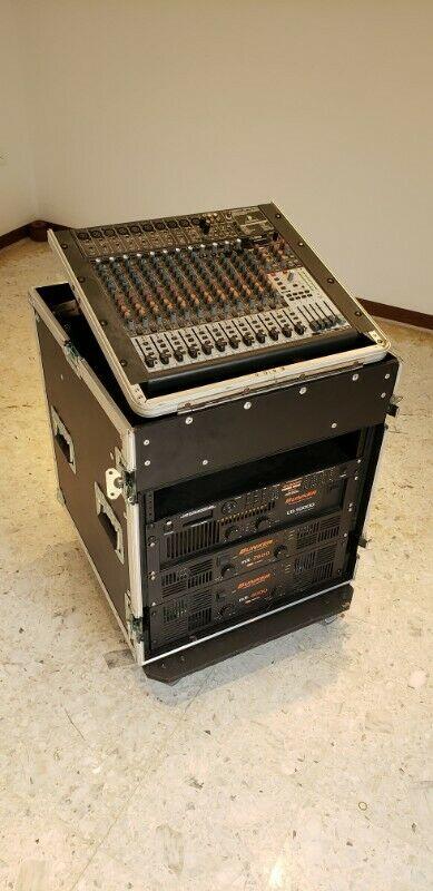 Equipo de Audio Profesional Completo