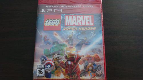 Lego Marvel Super Heroes Ps3 Nuevo Sellado