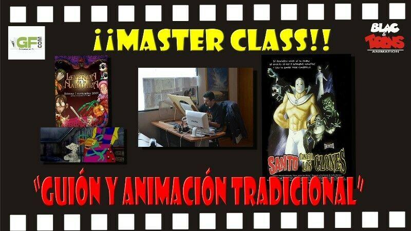 """Master class """"guion y animación tradicional"""""""