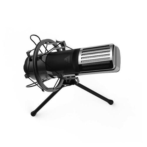 Microfono Condensador Usb Profesional Gamer Stream Gf Mcg600