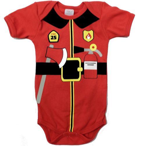 Pañalero hermoso bombero original - ropa de bebe 77ffb13892e0