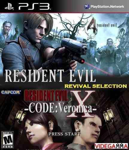 Resident Evil 4 Y Code Veronica X En Hd Para Playstation 3