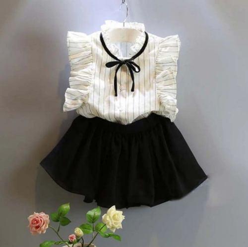 Ropa De Moda Conjunto Koreano Para Niñas