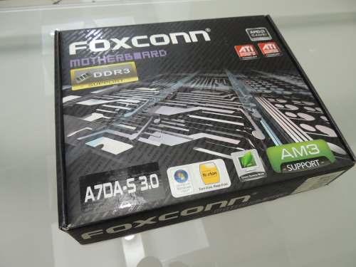 Tarjeta Madre Foxconn A7da-s Am3 Ati Crossfire Gamer New Box