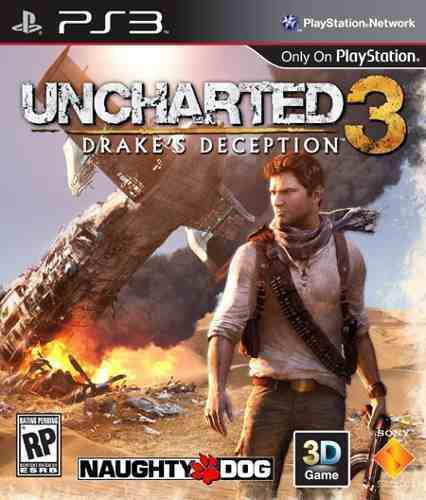 Uncharted 3 Drake's Deception Seminuevo Ps3 En Igamers