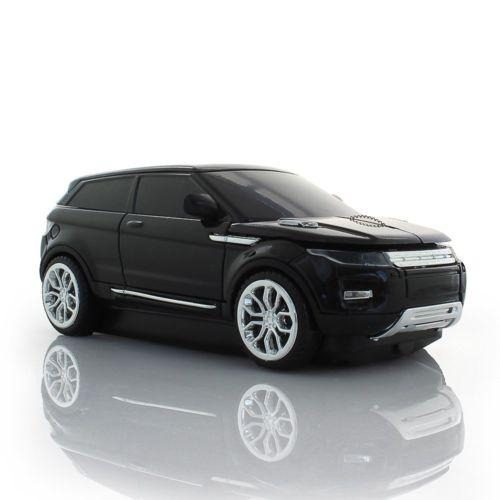 1 X Black - 2.4g Wireless Land Rover Range Evoque Coche-