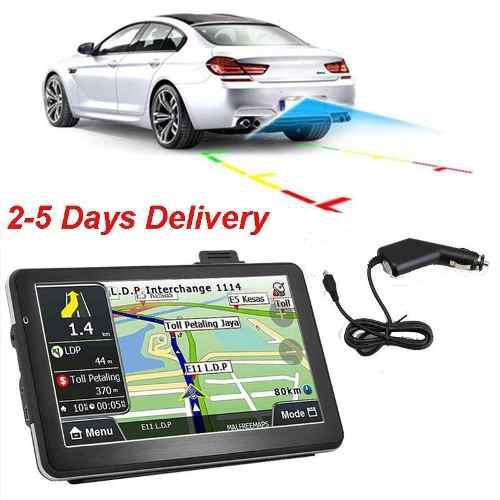 7 Sistema De Navegación Gps Con Bluetooth Vida 4gb Nav-2404