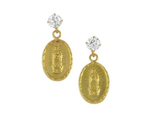 Broqueles De Oro Sabelli De 10 Quilates Pm-8214383