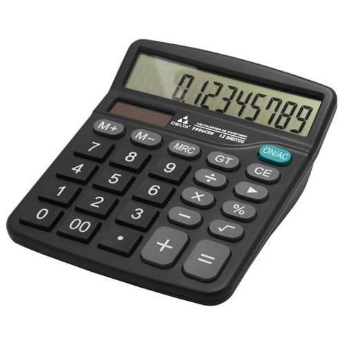 Calculadora De Escritorio 12 Digitos