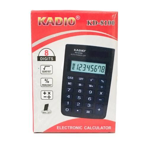 Calculadora Electronica Con Estuche 9cm Kadio