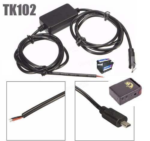 Cargador Usb Para Auto Gps Tracker Tk102 Y Tk-102b (nuevo)