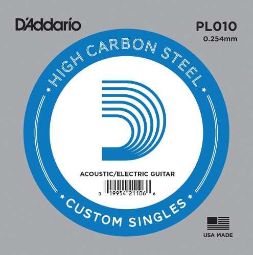 Cuerda D'addario De Repuesto Guitarra Electrica Pl-010