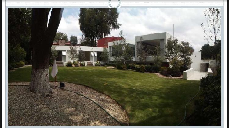 Espectacular casa en renta en Lomas de Chapultepec