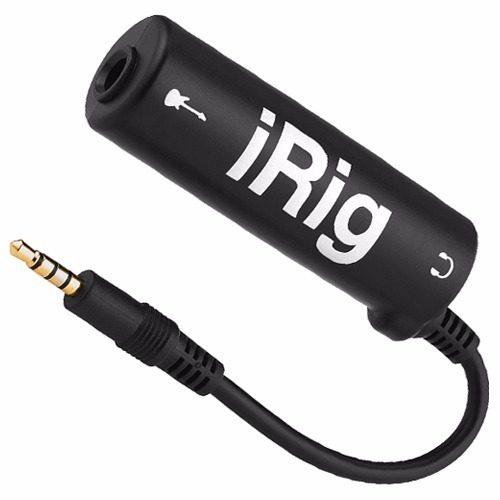 Interfaz Irig De Amplitube Guitarra Eléctrica En Iphone