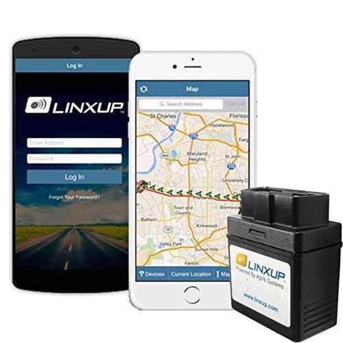 Linxup Obd Gps Tracker Con 3g Tiempo Real De Seguimiento Gps