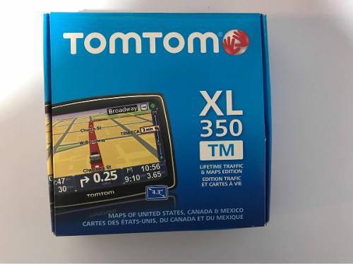 Navegador Gps Tomtom Xl350tm Mapas De México Usa Y Canadá