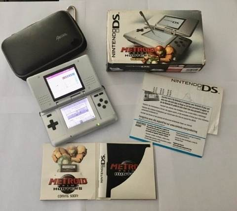 Primera Version Nintendo Ds Metroid Prime