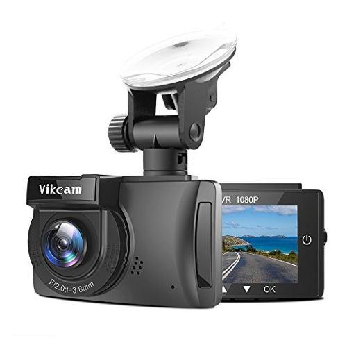 Vikcam Full Hd 1080p Dash Cam Gps Del Tablero De Instrumento
