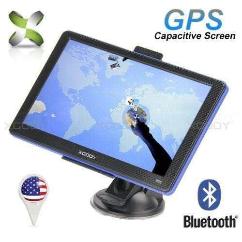 Xgody 7 Sistema De Navegación Gps Con Bluetooth De Por-8533