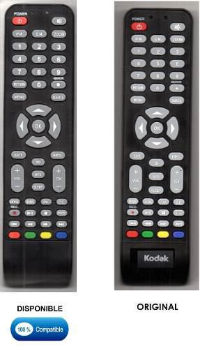 5 Controles Remotos Para Tv Lcd Led Kodak (boton 3d)