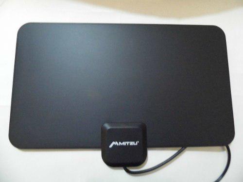 Antena Hd Tv Interior Lcd Led Plasma Fm+ Antena Pvc+gratis