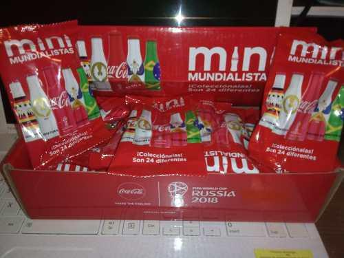 Coca Cola Mundialista Caja Con 22 Llaveros