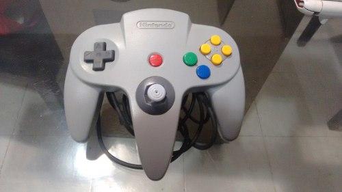 Control Para Nintendo 64 Original Palanca Muy Bien,funcionan