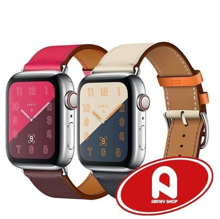 Correa de Piel HS para Apple Watch