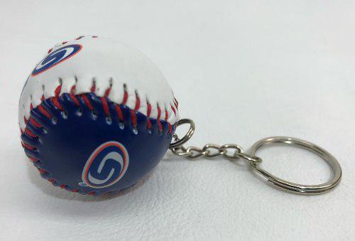 Llavero Con Forma De Pelota Beisbol Lmp Baseball Piel