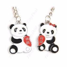 Llavero De Osos Pandas (para Pareja)