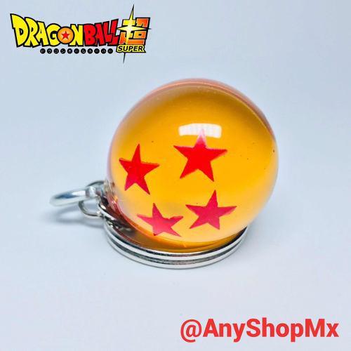 Llavero Esfera De Cuatro Estrellas dragón Ball 2.5 Cm