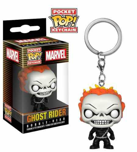 Llavero Funko Pop Ghost Raider Marvel Original Oferta