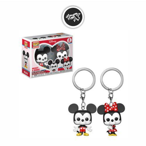 Llavero Funko Pop Keychain 2 Pack Mickey Mouse Y Minnie